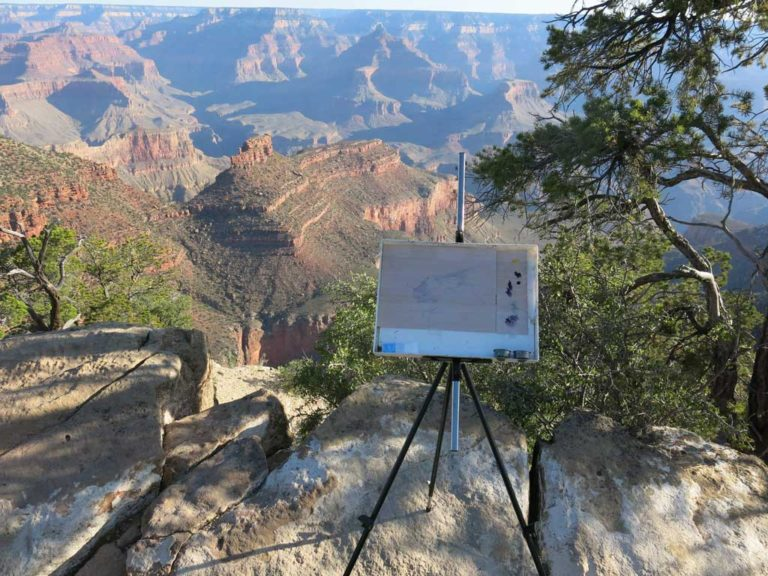 Landscape painting tips inspired by Melanie Vote