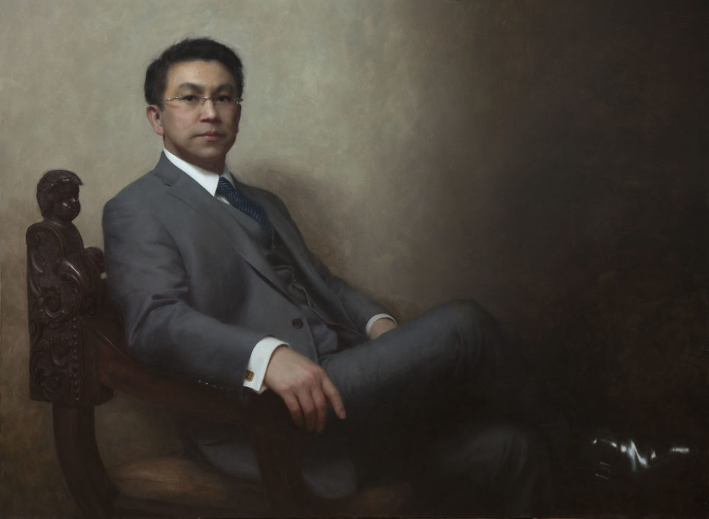 Portrait of Stephen Ling by Joshua LaRock | Artist HQ | Artists Network