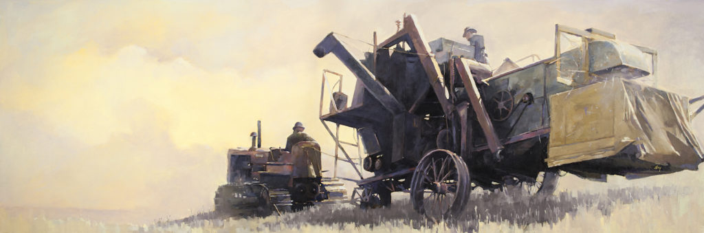 Harvest Time by David Story | Artists Over 60 | Meet the Winners of the 2017 Over 60 Art Competition | Artists Network