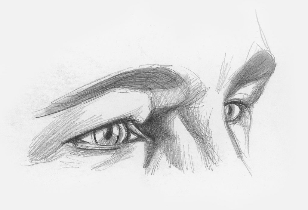 Drawing Eyes at Angle Demo, Step 2 | Lee Hammond | How to Draw Facial Features for Beginners | Artists Network