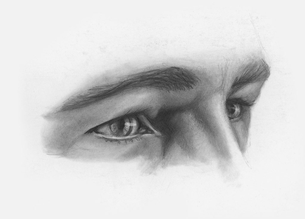 Drawing Eyes at Angle Demo, Step 3 | Lee Hammond | How to Draw Facial Features for Beginners | Artists Network