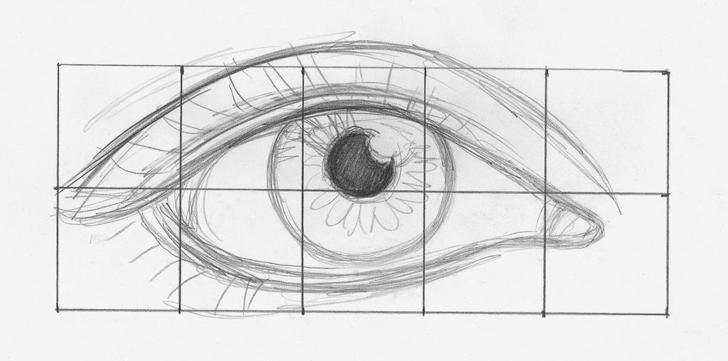 Drawing Eyes Demo, Step 1 | Lee Hammond | How to Draw Facial Features for Beginners | Artists Network