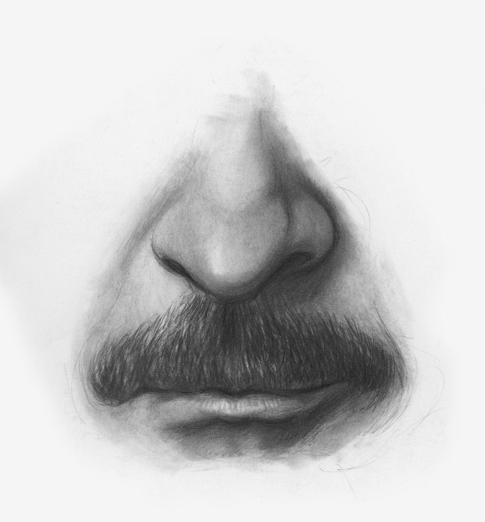 Drawing Facial Hair Demo, Step 3 | Lee Hammond | How to Draw Facial Features for Beginners | Artists Network