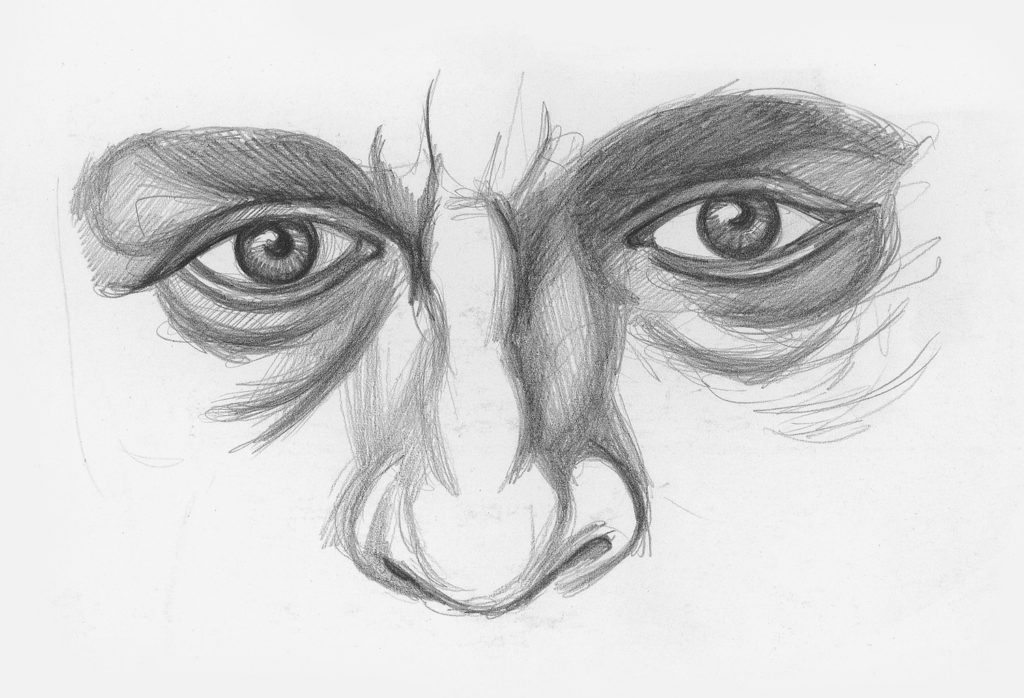 Drawing Noses and Eyes Demo, Step 2 | Lee Hammond | How to Draw Facial Features for Beginners | Artists Network
