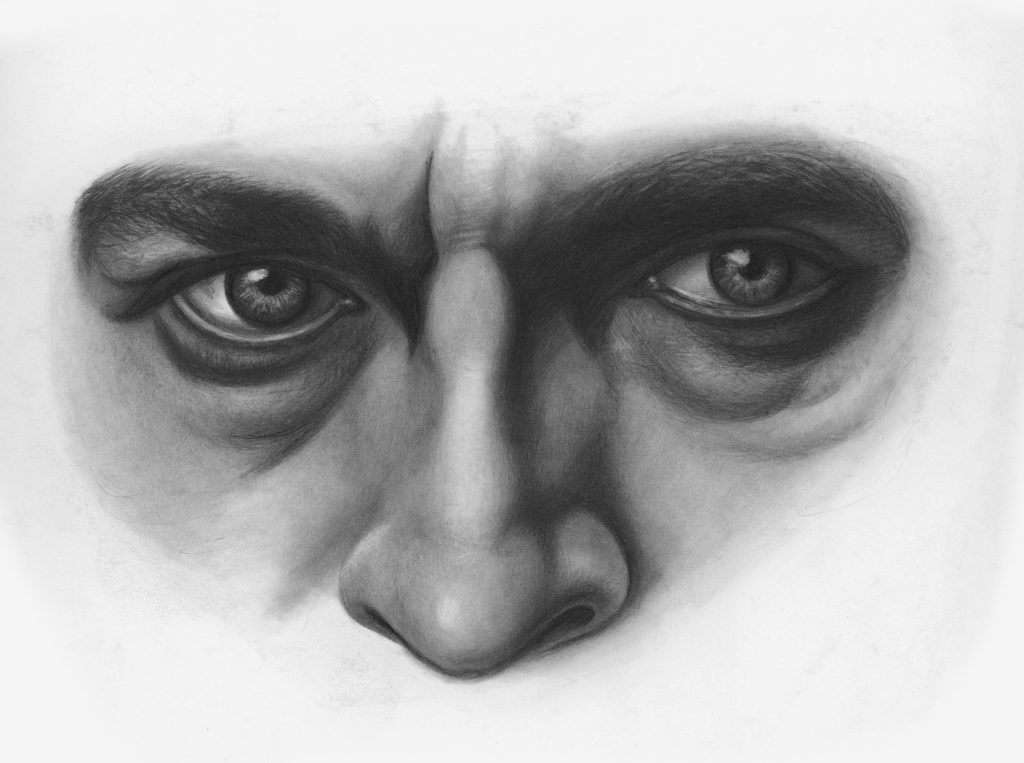 Drawing Noses and Eyes Demo, Step 3 | Lee Hammond | How to Draw Facial Features for Beginners | Artists Network