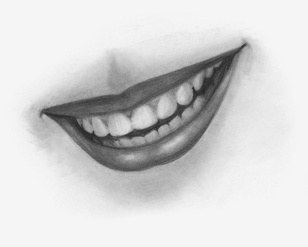 Drawing Smiles Demo, Step 3 | Lee Hammond | How to Draw Facial Features for Beginners | Artists Network