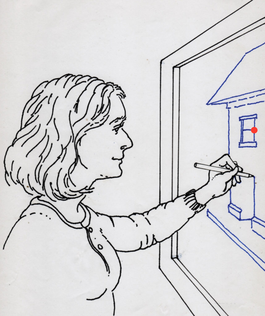 Figure 5 | Window Drawing Exercise | Learning Linear Perspective with Patrick Connors | Artists Network