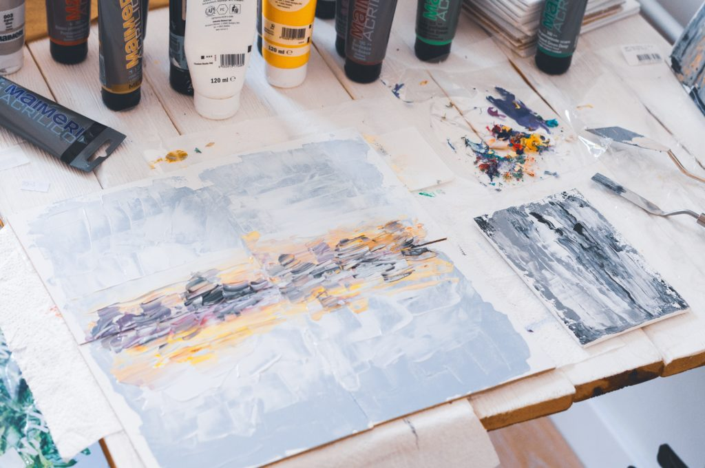Art burnout: Photo by Olia Gozha on Unsplash