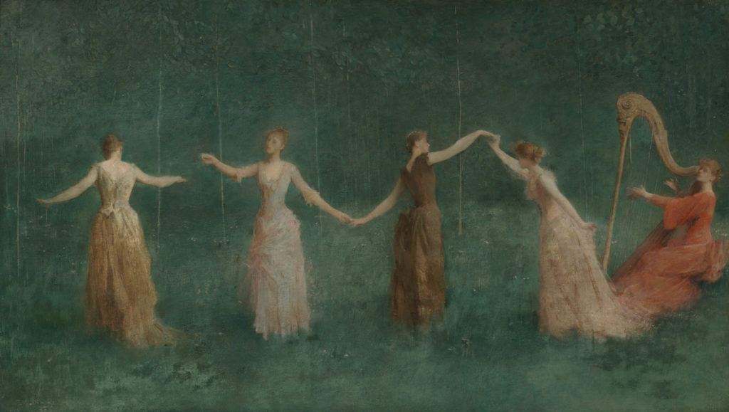 Summer by Thomas Wilmer Dewing, 1890