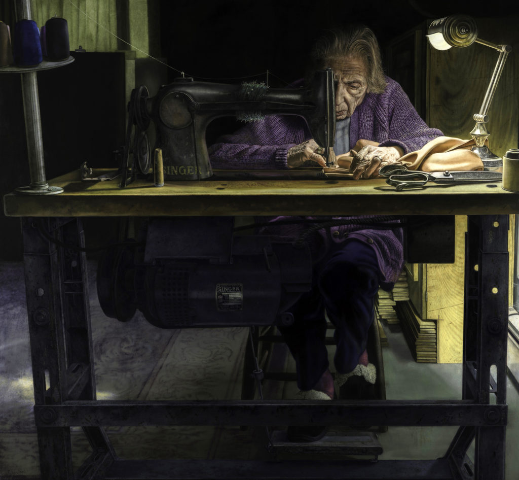 The Dressmaker by Tony Luciani | Artists Over 60 | Meet the Winners of the 2017 Over 60 Art Competition | Artists Network
