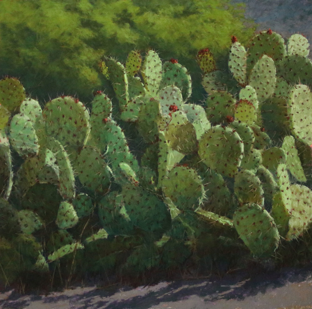 cactus painting demo: final