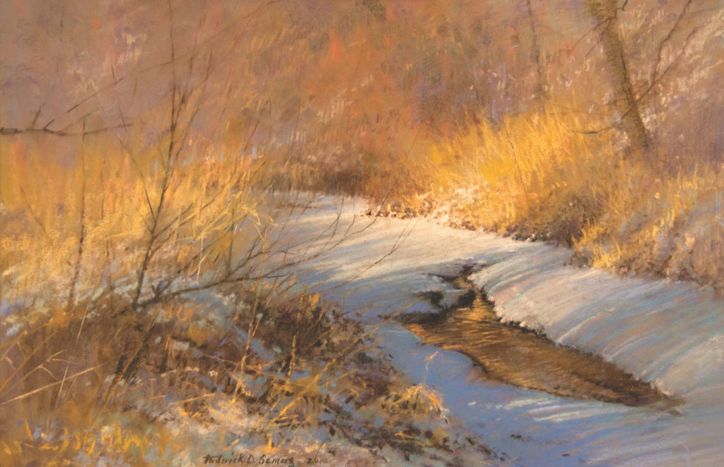 Awakened By The Sun by Frederick Somers | 20 Pastel Works and Words of Wisdom from 20 Award-Winning Artists | Artists Network