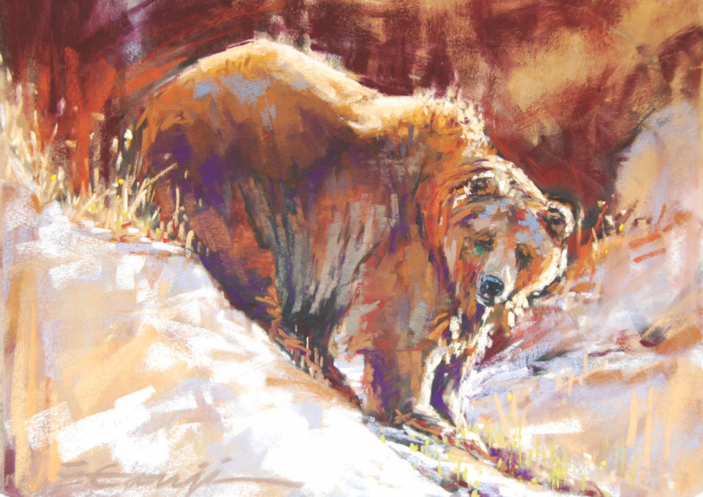 Is It Spring Yet? by Elizabeth Ganji | 20 Pastel Works and Words of Wisdom from 20 Award-Winning Artists | Artists Network