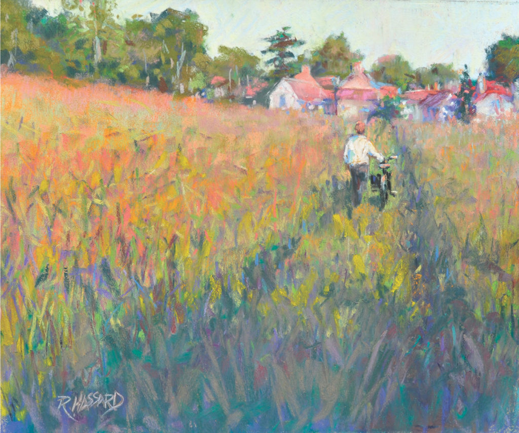 The Path To Giverny by Ray Hassard | 20 Pastel Works and Words of Wisdom from 20 Award-Winning Artists | Artists Network