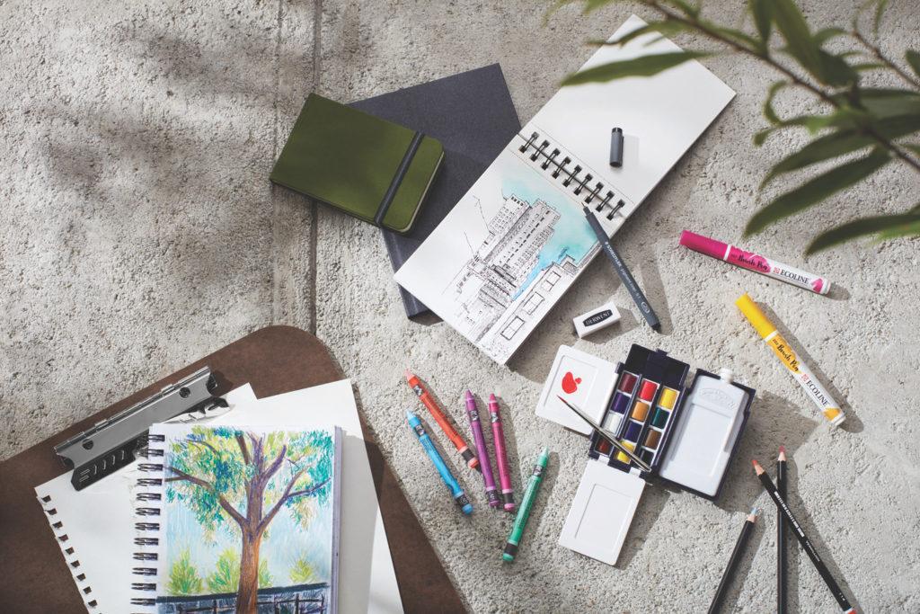 Urban Sketching 101 | Materials