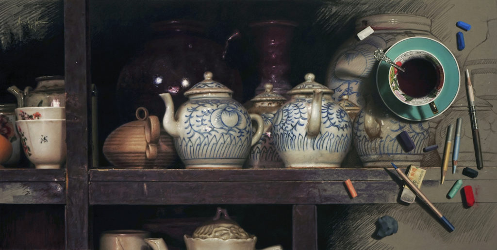 Painting Old Chinese Pottery by Aurelio Rodriguez Lopez | 20 Pastel Works and Words of Wisdom from 20 Award-Winning Artists | Artists Network