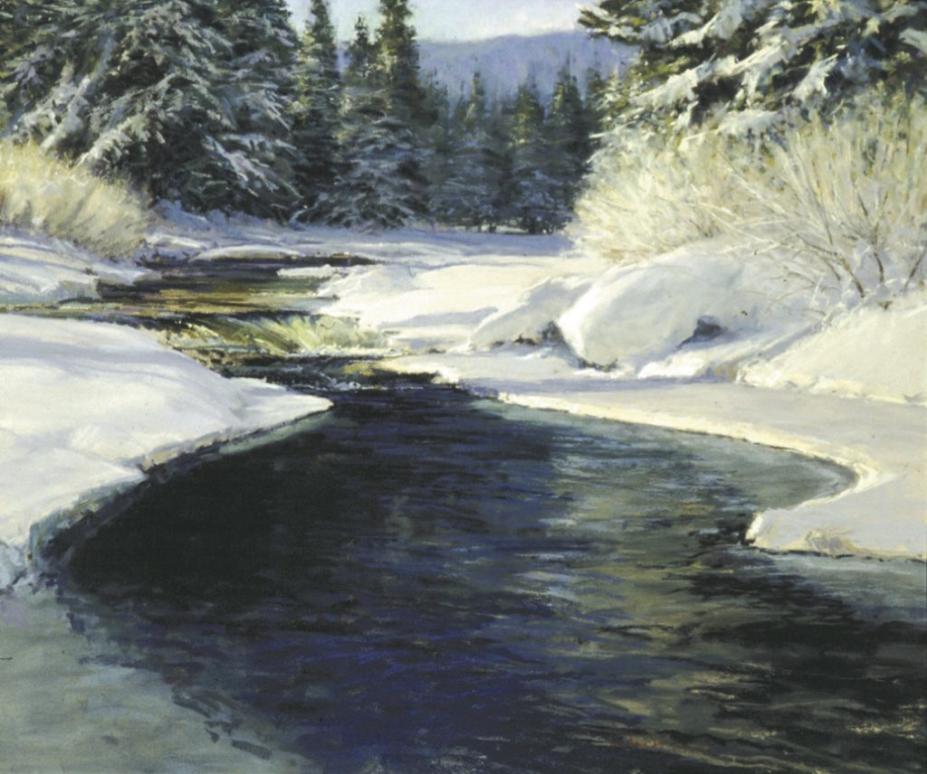 Frosty Morning by Skip Whitcomb | 20 Pastel Works and Words of Wisdom from 20 Award-Winning Artists | Artists Network