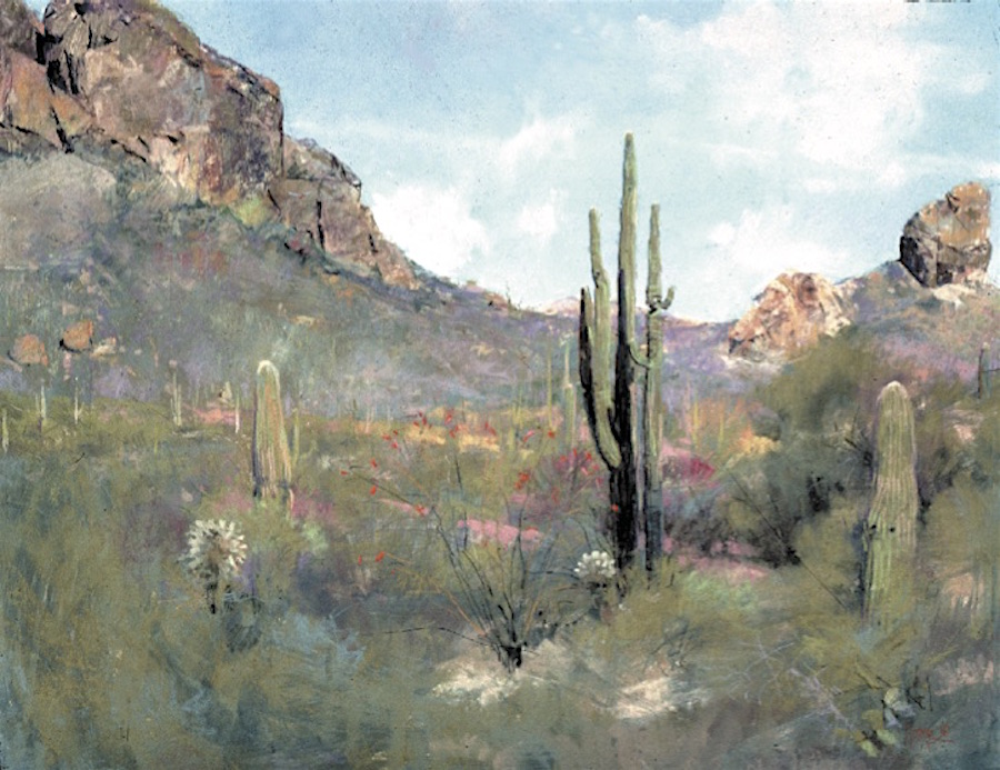 Desert Spring Suite by W. Truman Hosner | 20 Pastel Works and Words of Wisdom from 20 Award-Winning Artists | Artists Network