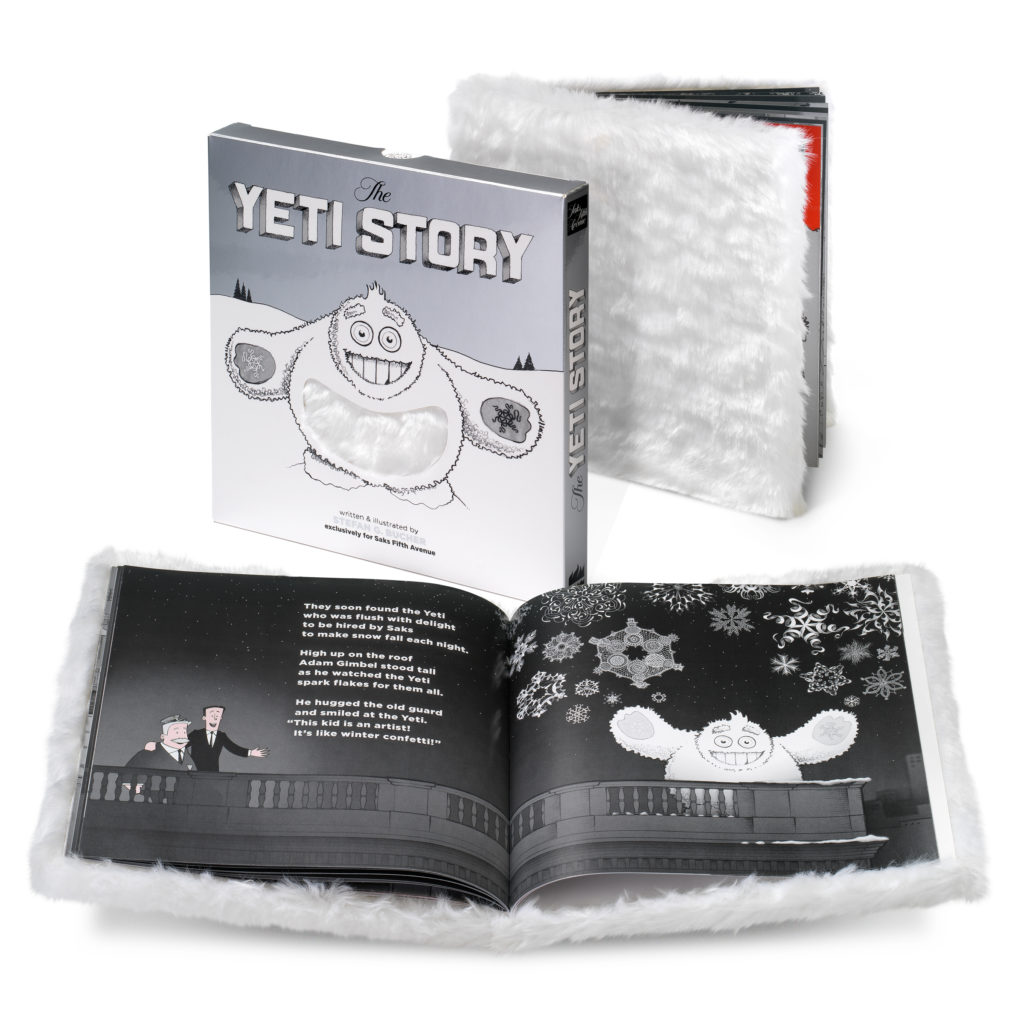 The Yeti Story -- written and illustrated by Stefan G. Bucher.