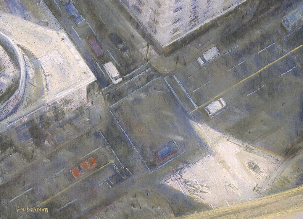 Downtown by Andrew McDermott | 20 Pastel Works and Words of Wisdom from 20 Award-Winning Artists | Artists Network