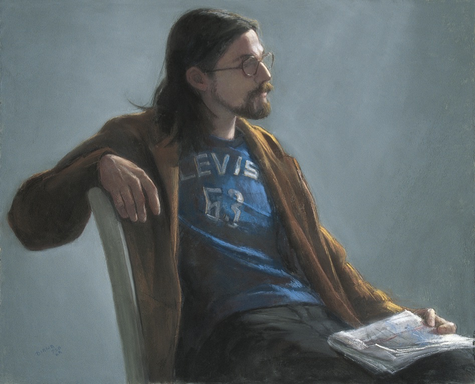 In a Pensive Mood by Diana DeSantis | 20 Pastel Works and Words of Wisdom from 20 Award-Winning Artists | Artists Network
