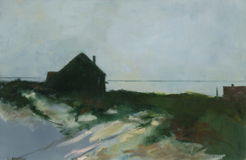 Beach House by Anne Packard | Anne Packard's Ethereal Landscapes | Where Image and Imagination Merge | Artists Network