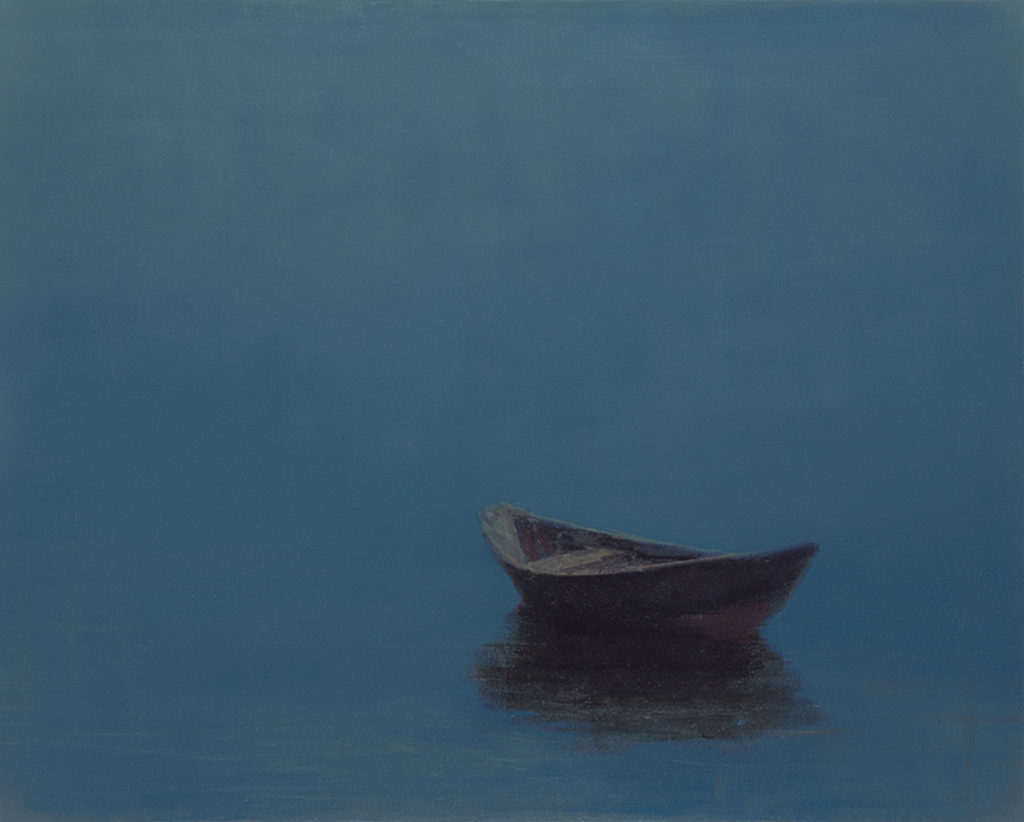Blue Evening by Anne Packard | Anne Packard's Ethereal Landscapes | Where Image and Imagination Merge | Artists Network