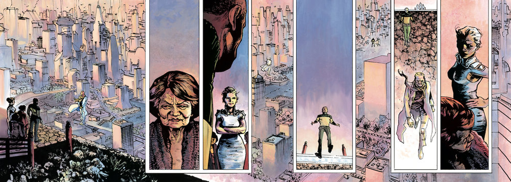 """Art from Andy Schmidt's project """"Exalt""""   How Marvel Editor and Painter Worked Together on project for Marvel Entertainment   Artists Network"""