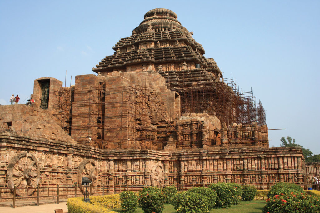 The Sun Temple at Konark. Getty Images