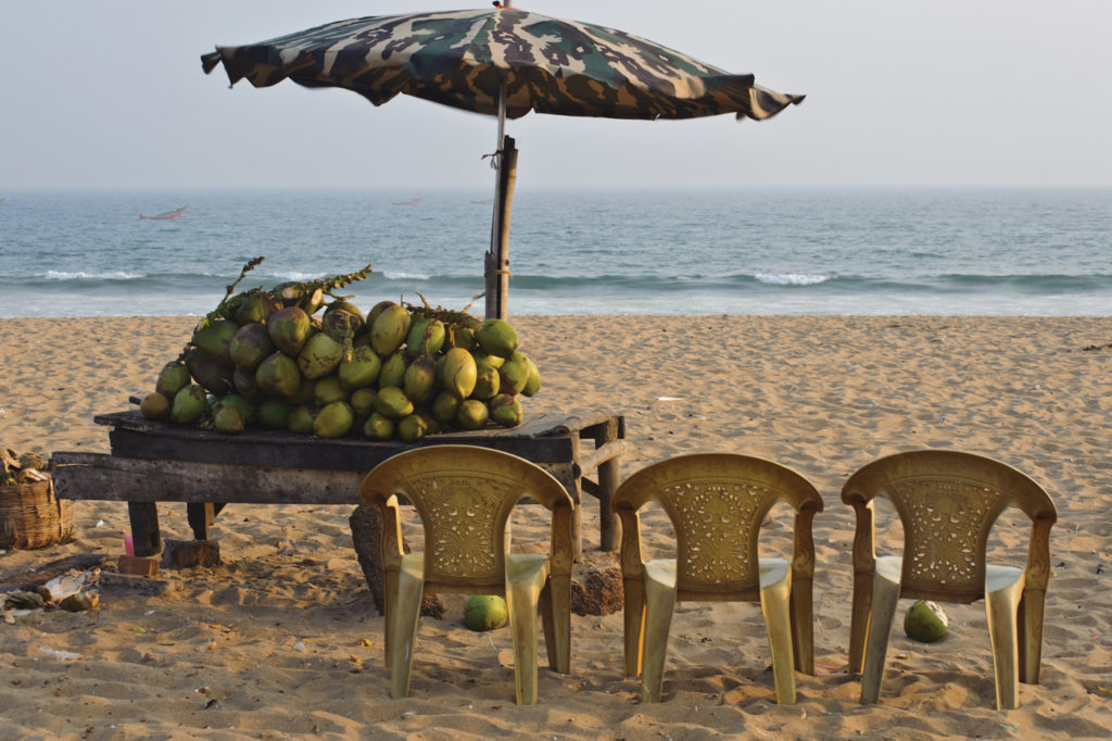 The beach at Puri. Getty Images