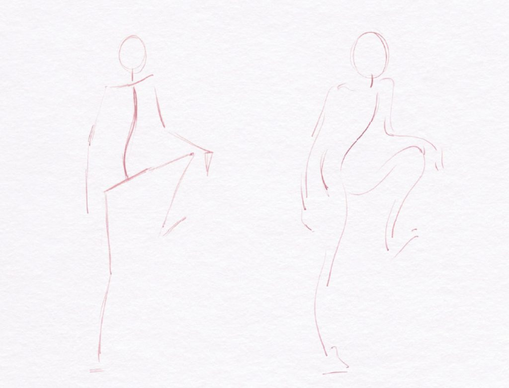 Why You Should Start with Armatures When Learning to Draw Figures | Excerpt from How to Draw People by Jeff Mellem | Artists Network