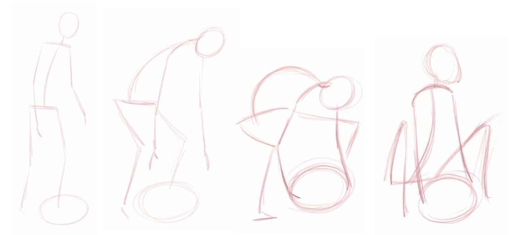 Drawing Armatures in Motion | Excerpt from How to Draw People by Jeff Mellem | Artists Network