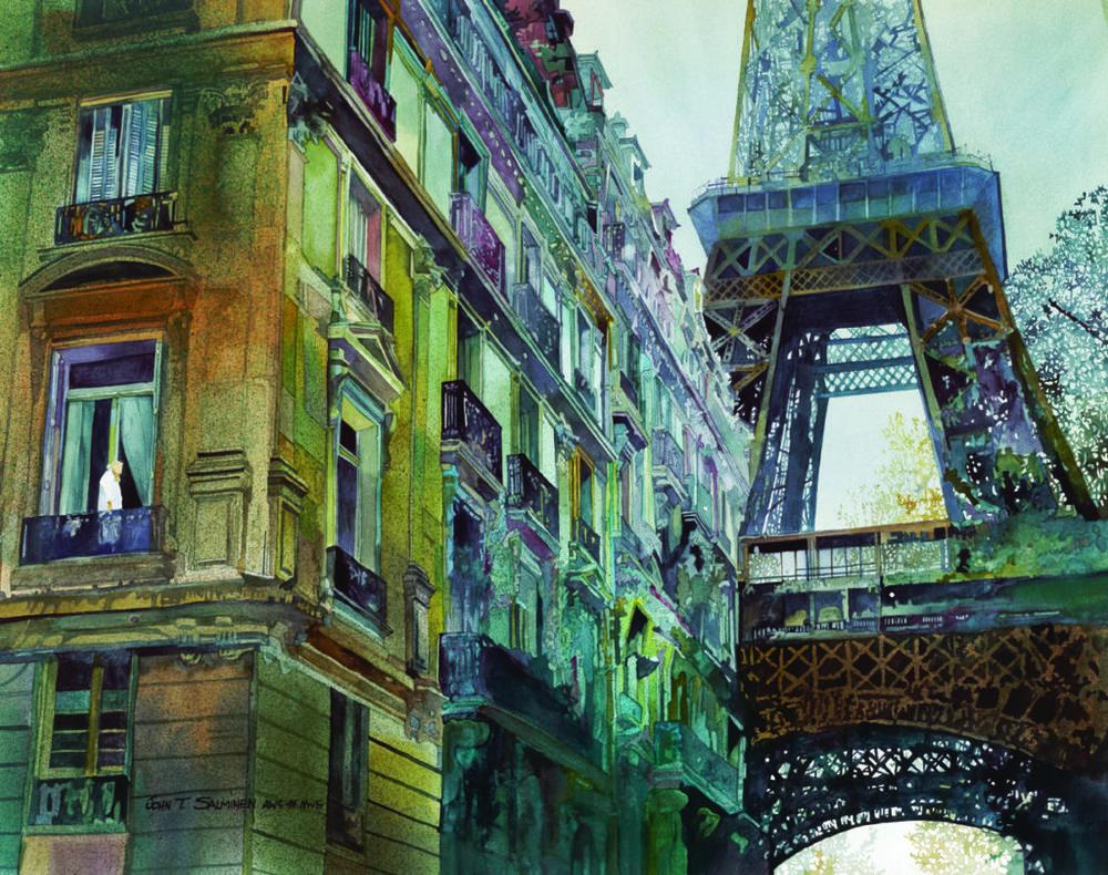 December in Paris by John Salminen | Mastering Urban Landscapes