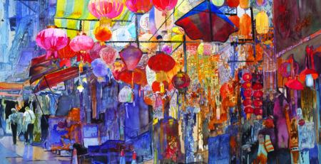 Hong Kong Central by John Salminen