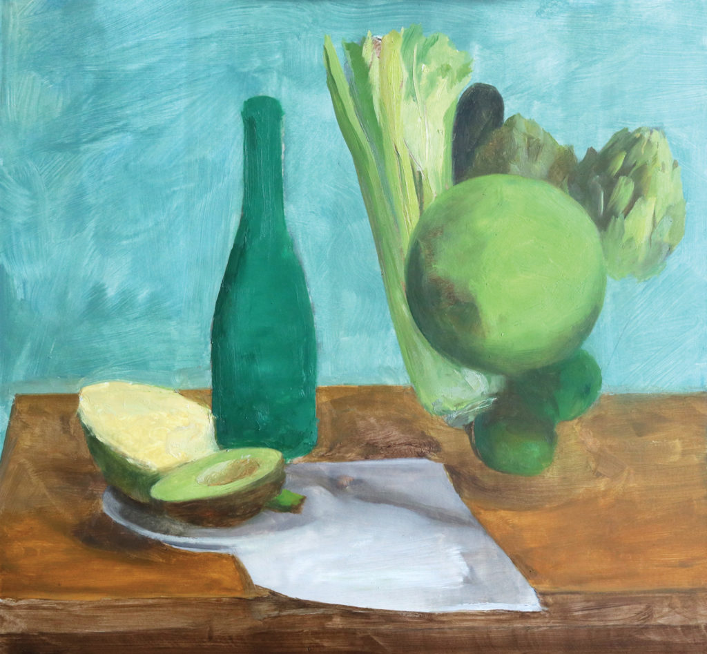 Mixing Greens | Summer Still Life Demo, Step 2 | Artists Network