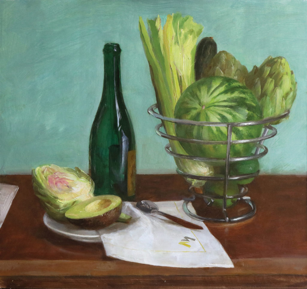 Mixing Greens | Summer Still Life Demo, Step 3 | Artists Network
