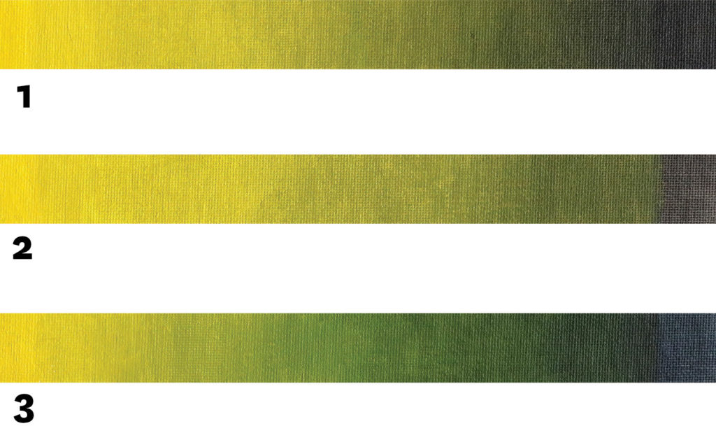 Yellow and Black Color Combinations | Painting With Greens | 4 Color Combination Ideas For The Perfect Green | Artists Network