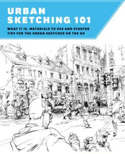 Urban Sketching Freemium Cover