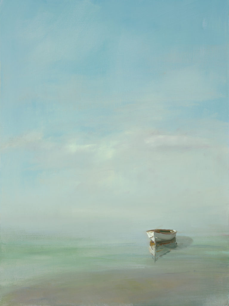 White Dory by Anne Packard | Anne Packard's Ethereal Landscapes | Where Image and Imagination Merge | Artists Network