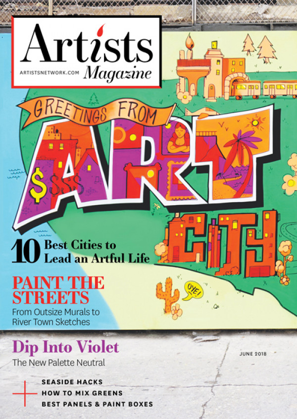 Artists Magazine: Use this magazine made for artists to give you the edge in any and all art competitions.
