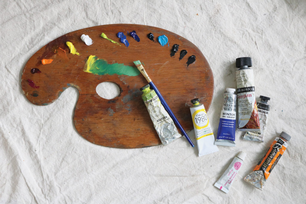 Painting With Greens | 4 Color Combination Ideas For The Perfect Green | Artists Network
