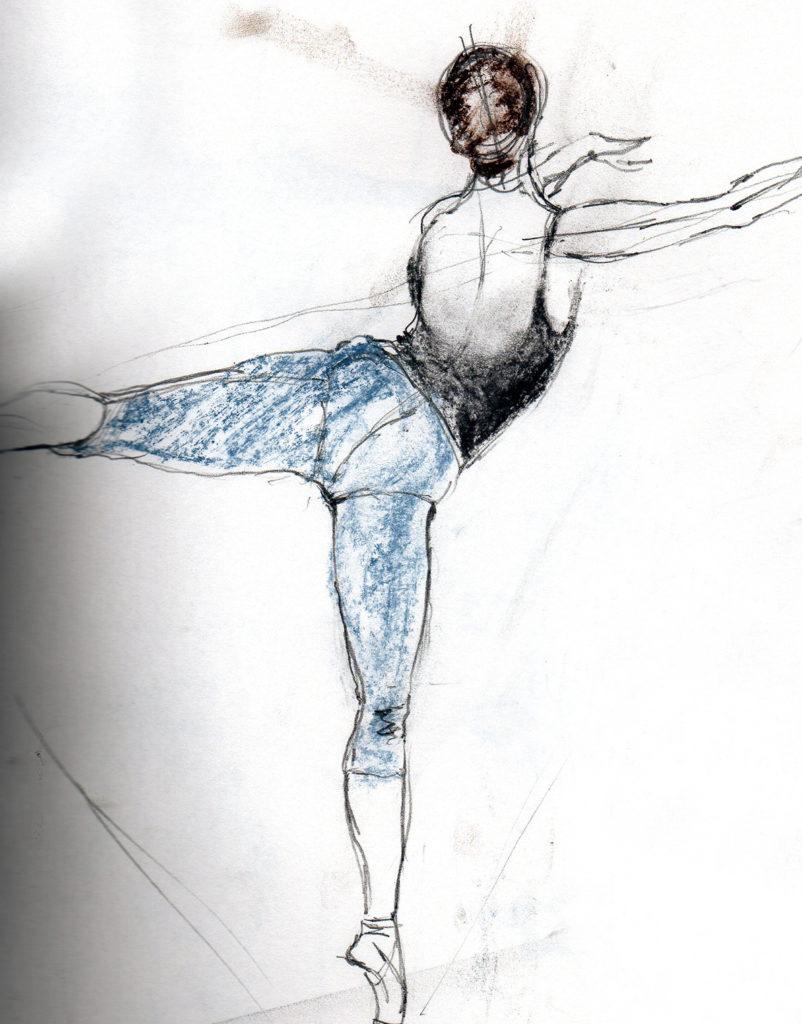 Sketch by Ruth Buchanan