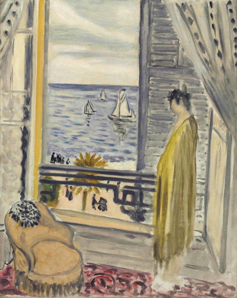 Femme auprès de la fenêtre by Henri Matisse