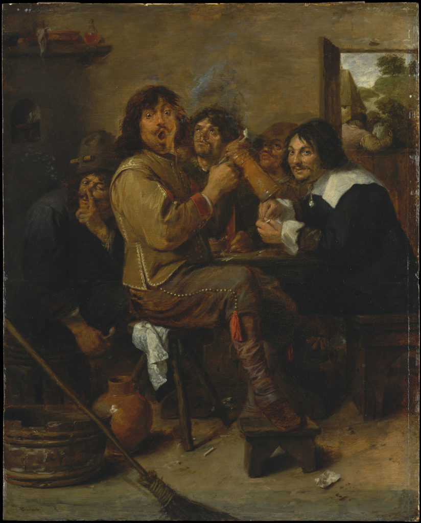Smokers by Adriaen Brouwer