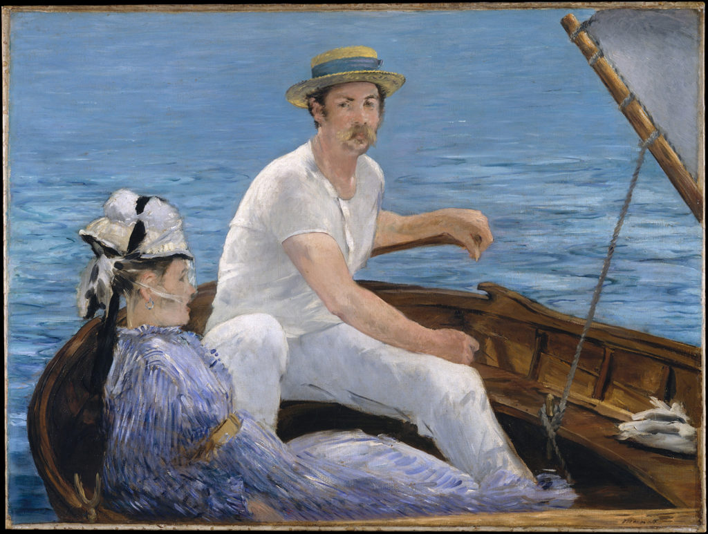 Boating by Édouard Manet