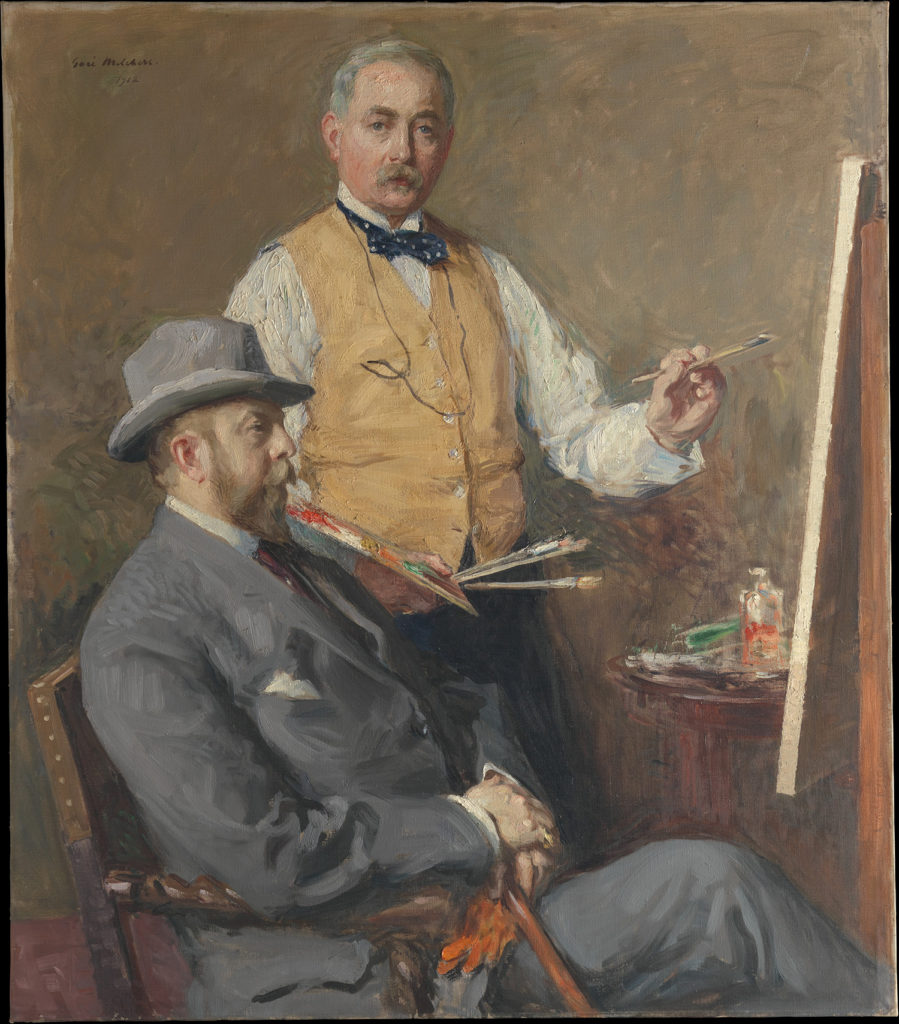 In the Studio (Gari Melchers and Hugo Reisinger) by Gari Melchers