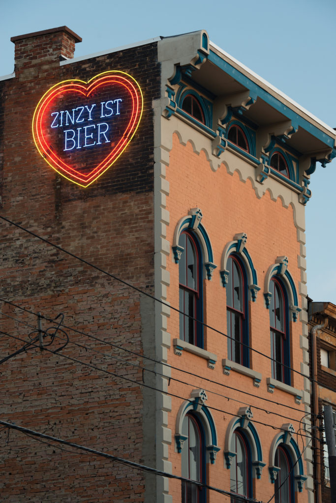 Zinsy Ist Bier by Jim Effler; photo courtesy of ArtWorks | Erasing the Street Art Stigma | Why Painting in the Streets Works | Artists Network