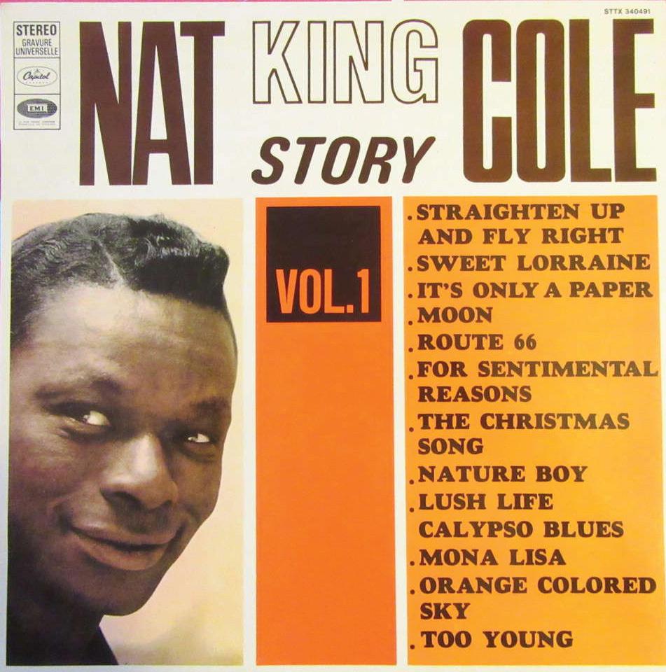 Nat King Cole album cover