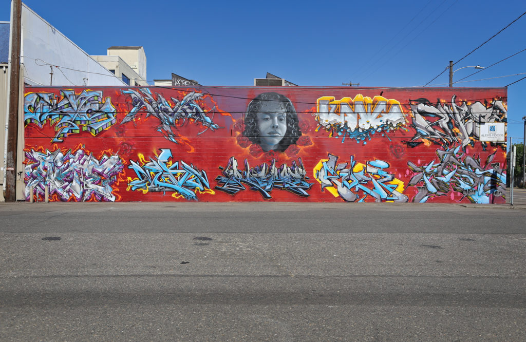 The Alexis Walls, photo by Oddio, PSAA | Erasing the Street Art Stigma | Why Painting in the Streets Works | Artists Network