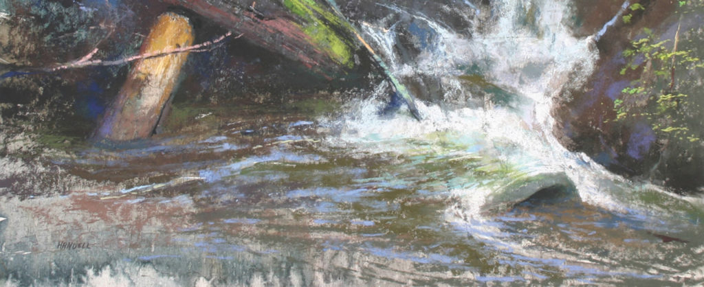 Watercolor Underpainting of A Special Moment by Albert Handell | Taking Your Unresolved Painting from Potential to Prizewinning Art | Artists Network